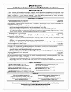 Assistant Chief Police Resume