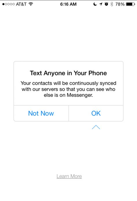 Sign Up For Messenger Without A Facebook Account? Ask