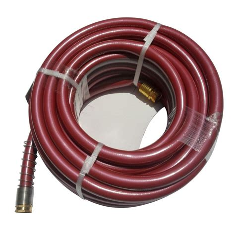 home depot garden hose worth garden 3 4 in dia x 100 ft heavy duty garden hose