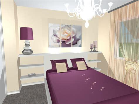 choix des couleurs pour une chambre une chambre douce et romantique