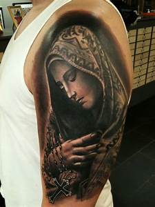 47+ Religious Virgin Mary Tattoos