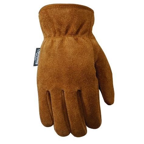 Lamont Gloves Cowhide by Lamont Suede Cowhide Work Gloves For Large
