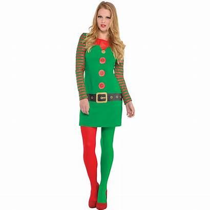 Elf Sleeve Costume Christmas Adult Party Dresses