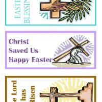 christian easter bookmarks