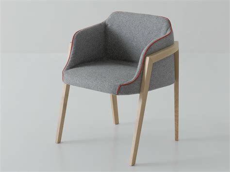 Chairs With Armrests by Upholstered Easy Chair With Armrests Chevalet By Gaber