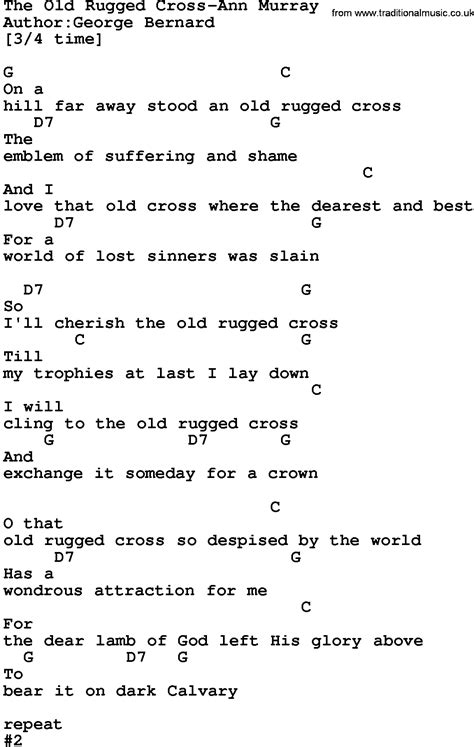 rugged cross lyrics the rugged cross chords in g rugs ideas