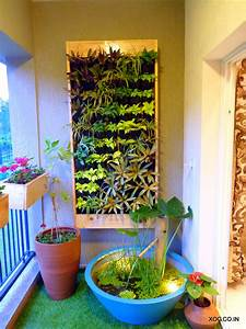 Vertical, Garden, By, Xog, Pine, Wood, Encased, Vertical, Garden, With, A, Natural, Tropical, Theme, Plant