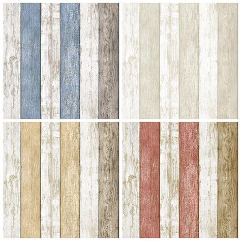 wood plank effect wallpaper wood panel plank effect vintage wallpaper rustic woodgrain wall paper wooden wallcovering in