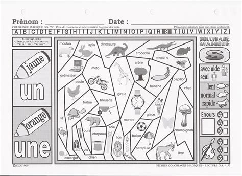 126 dessins de coloriage magique cp 224 imprimer