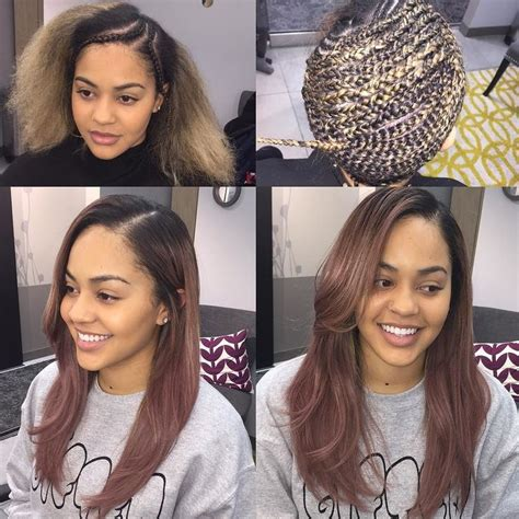 Types Of Sew In Hairstyles by 331 Best Images About Medium Length Sew In