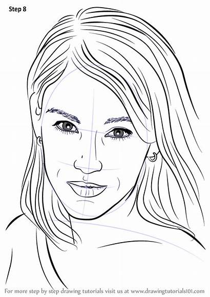 Amy Jo Johnson Draw Drawing Step Tutorials