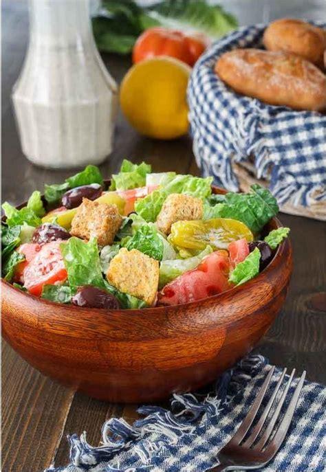 Olive Garden Salads by Copycat Olive Garden Salad Recipe Allfreecopycatrecipes