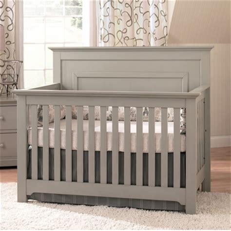 Light Grey Crib by Munire Chesapeake Lifetime Crib In Light Grey Free Shipping