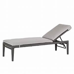 Polyrattan Lounge Grau : gartenliege paradise lounge polyrattan grau ebay ~ Indierocktalk.com Haus und Dekorationen