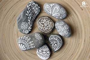 Steine Bemalen Maltherapie Buntwerkstattat