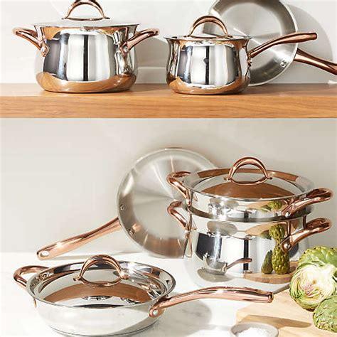 copper cookware crate  barrel