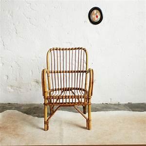 Fauteuil Rotin Enfant : fauteuil rotin vintage atelier du petit parc ~ Teatrodelosmanantiales.com Idées de Décoration