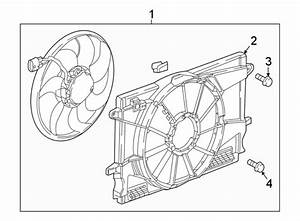 Chevrolet Cruze Engine Cooling Fan Shroud