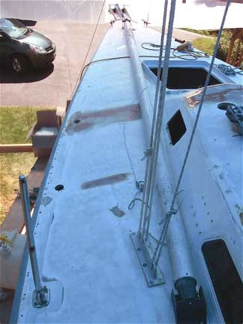 greyhawk refit deck paint   skid