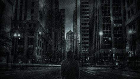 night rainy city wallpapers  images wallpapers