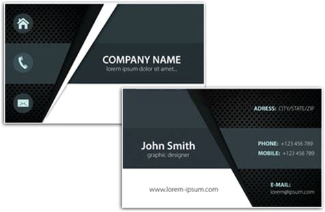 business card designing software create unique personal