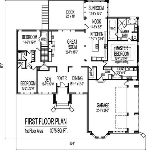 3 Bedroom 2 Bath House Plans With Basement Fresh House