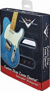 Fender Tele Pickups  Custom Shop Texas Special Telecaster