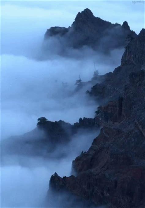 fog mountain gifs tenor