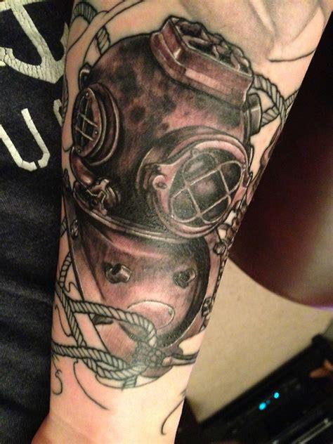 diving suit  tattoo design ideas