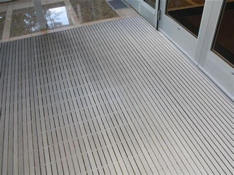 recessed walk mat pedigrid information ronick entry matting systems