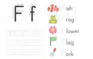Letter F Preschool Worksheets