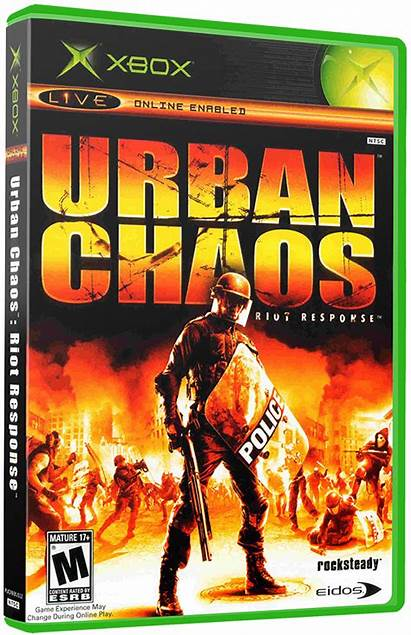 Chaos Riot Urban Response Games Launchbox Box