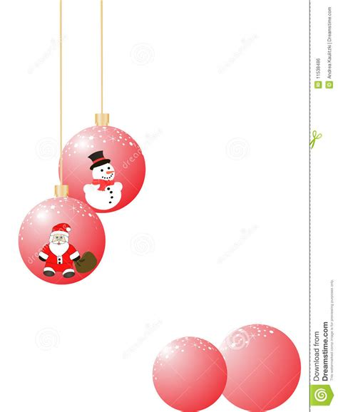 funny christmas baubles baubles royalty free stock image image 11538486