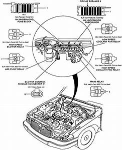 Where Can I Get A Diagram Of The Fuses And Relays  Inside The Engine Compartment  Aagainst The