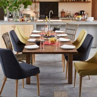 chaise nordique chaise en hévéa et frêne vert esprit scandinave vert abby chaises tables et chaises