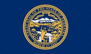 Nebraska State Flag Coloring Pages P Pot Nebraska