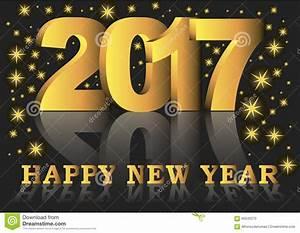 Carte De Voeux 2017 De Bonne Année Photo stock - Image ...