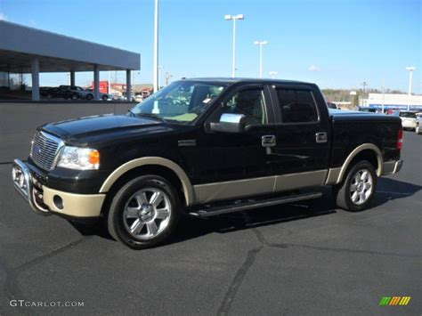Black Ford F150 by 2007 Black Ford F150 Lariat Supercrew 60506803 Photo 4