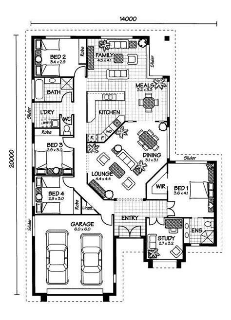 australian house plans arlington floor plan australian house plans home design floor plans