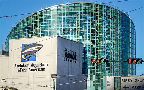Aquarium of Americas and Entergy IMAX Theatre, New Orleans ...