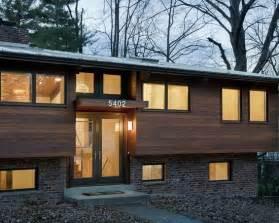 fresh split level house renovation quot modern revisited quot split entry modern remodel exterior