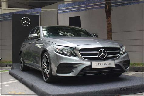 Mercedes-benz E 300 Amg Line Is Now Assembled Locally