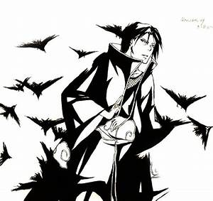 images of itachi black and white summer
