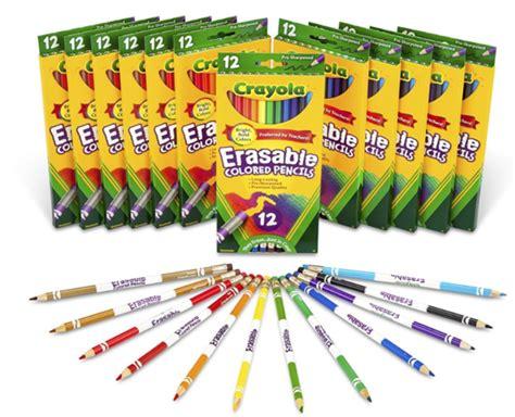 *hot* .80 (reg ) Crayola 12-count Erasable Colored