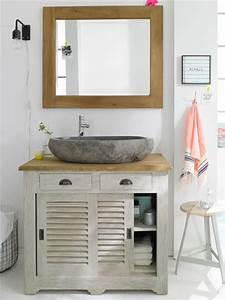 Waschtisch Weiß Holz : holz wei so wird ihr bad nat rlich wohnlich ~ Sanjose-hotels-ca.com Haus und Dekorationen