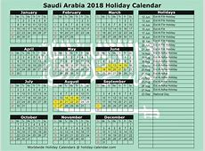 2018 Happy New Year Arabic Calendar Printable Templates