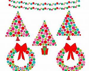 Contemporary Christmas Clipart (50+)