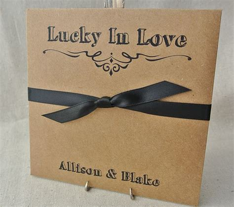 lottery ticket envelopes rustic wedding favors lottery