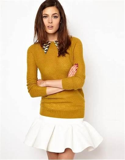 Sweater Orla Kiely Lookmazing Detatchable Mohair Collar