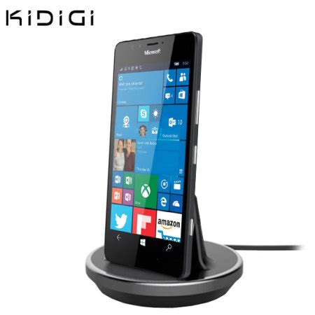 dock bureau dock chargeur bureau microsoft lumia 950 kidigi avis